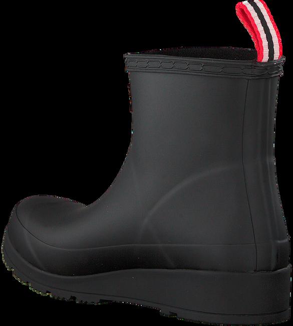 Zwarte HUNTER Regenlaarzen PLAY BOOT SHORT - large