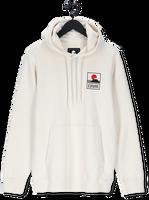 Witte EDWIN Sweater SUNSET ON MT FUIJ HOODIE SWEAT