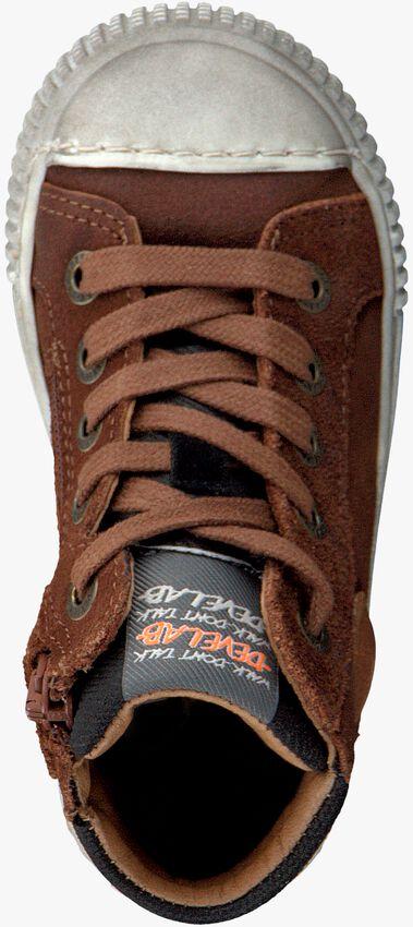 Cognac DEVELAB Hoge sneaker 41609  - larger