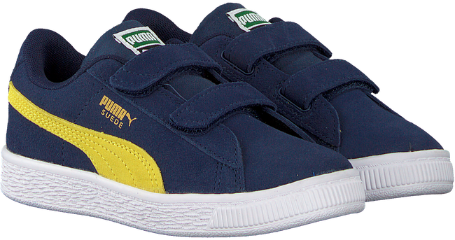 Blauwe PUMA Sneakers SUEDE CLASSIC INF  - large