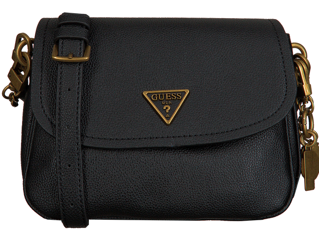 Zwarte GUESS Schoudertas DESTINY SHOULDER BAG  - large