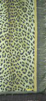 Groene NOTRE-V Sjaal DEBRA  - medium