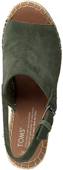 Groene TOMS Espadrilles MONICA - large