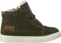 Groene TON & TON Hoge sneaker PL20W017  - medium