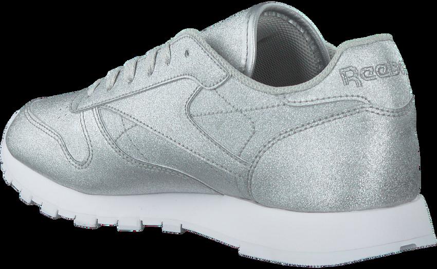 Zilveren REEBOK Sneakers CL LEATHER WMN - larger