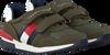 Groene TOMMY HILFIGER Lage sneakers LOW CUT VELCRO SNEAKER  - small