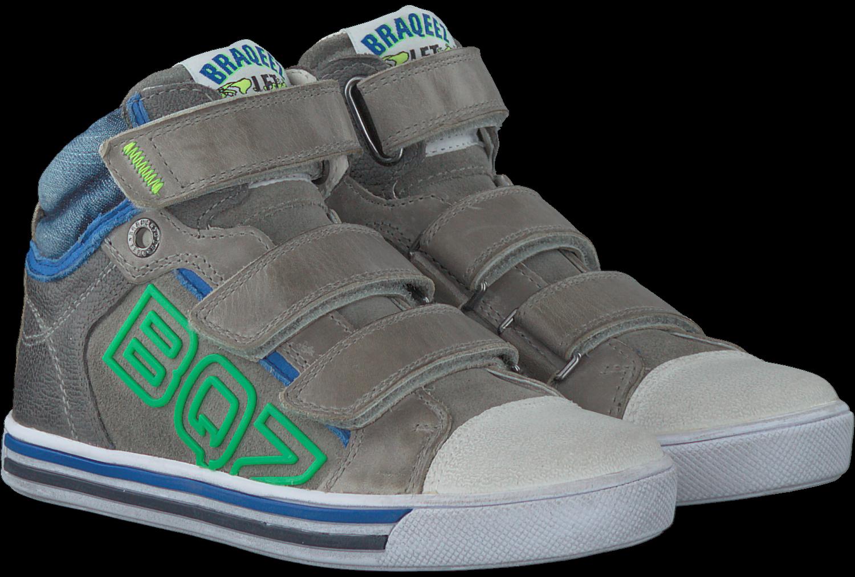 7f462700a17 Grijze BRAQEEZ Sneakers 417352 - Omoda.nl
