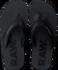 Zwarte G-STAR RAW Slippers LOAQ  - small