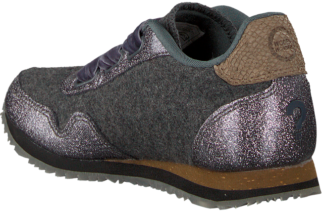 Zilveren WODEN WONDER Sneakers SIENNA WOOL - large