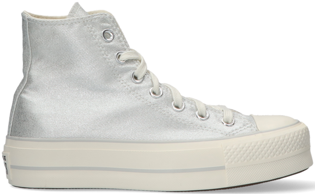 Zilveren CONVERSE Hoge sneaker CHUCK TAYLOR ALL STAR LIFT HI  - large