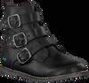 Zwarte BUNNIES JR Biker boots BOBBI BLIKSEM - small