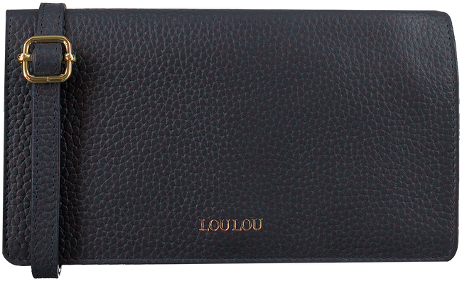 Blauwe LOULOU ESSENTIELS Schoudertas 08POUCH - large