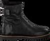 Zwarte SHABBIES Enkellaarsjes 181020129 - small