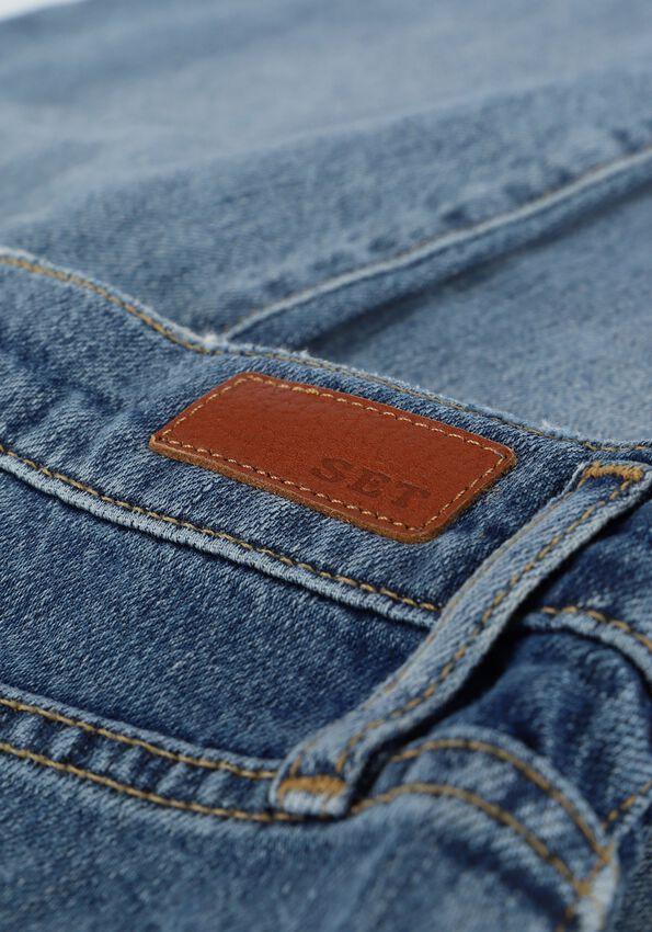 Blauwe SET Mom jeans 73454 - larger