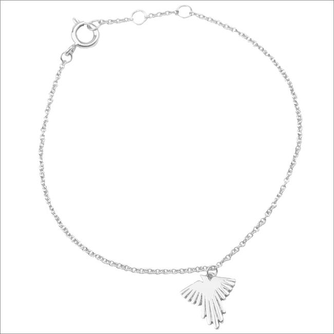 Zilveren ATLITW STUDIO Armband SOUVENIR BRACELET EAGLE - large