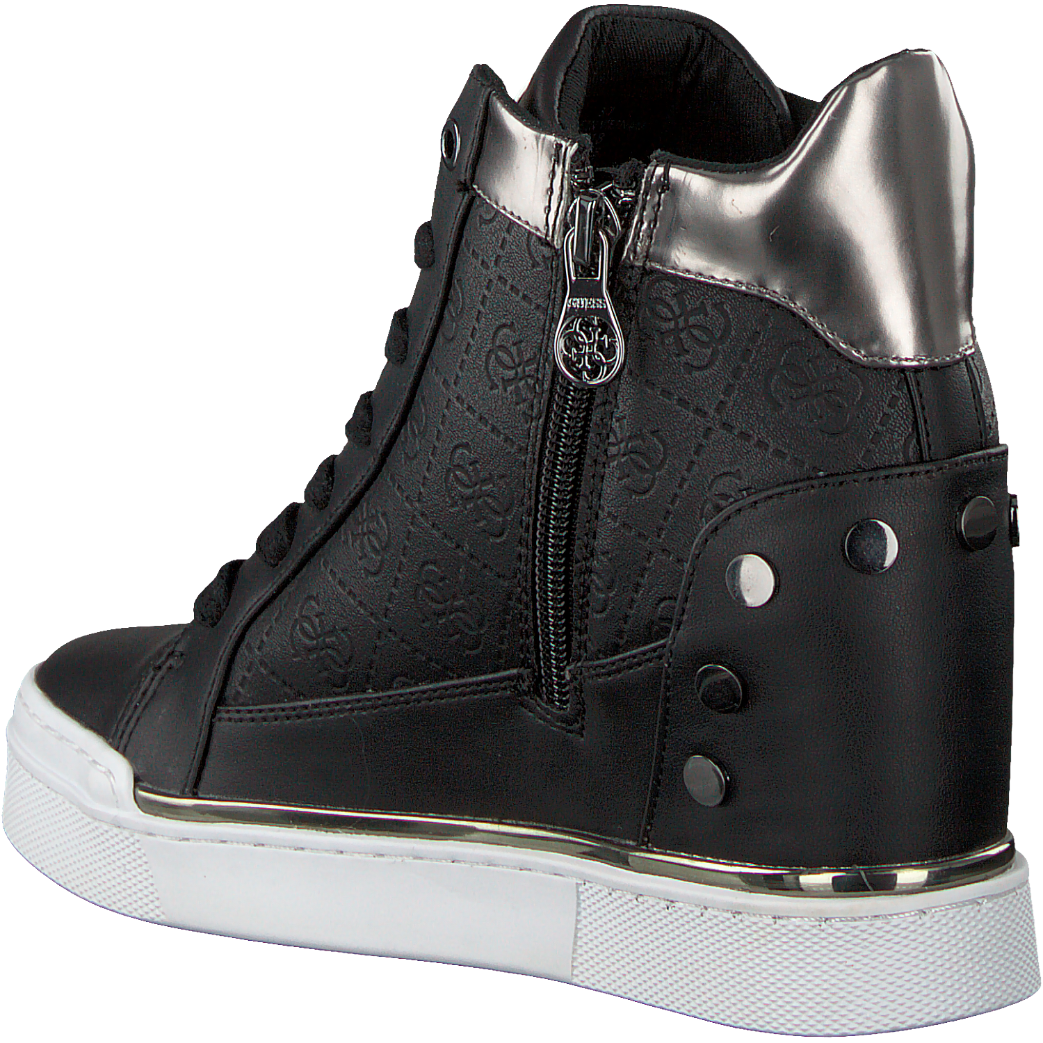 e0391af95f203 Zwarte GUESS Sneakers FINLY - Omoda.nl