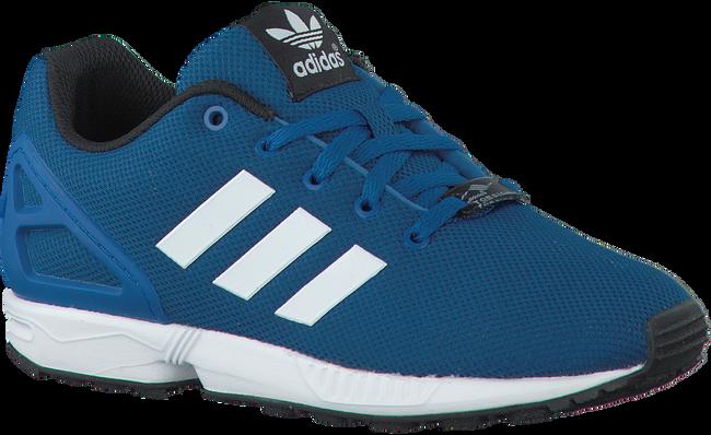 Blauwe ADIDAS Sneakers ZX FLUX KIDS  - large