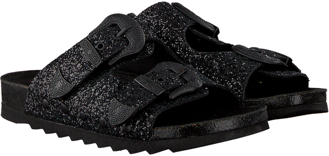 Zwarte THE WHITE BRAND Slippers BIO BUCKLE  - large
