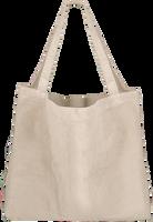 Witte STUDIO NOOS Shopper RIB MOM-BAG  - medium
