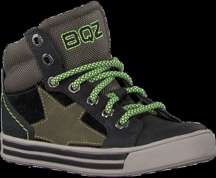 Zwarte BRAQEEZ Hoge sneaker DYLAN DAY  - larger