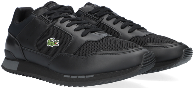 Zwarte LACOSTE Lage sneakers PARTNER PISTE  - large
