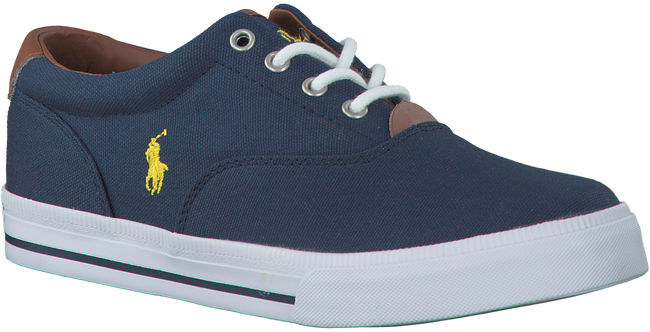 Blauwe POLO RALPH LAUREN Sneakers VAUGHN II KIDS  - large