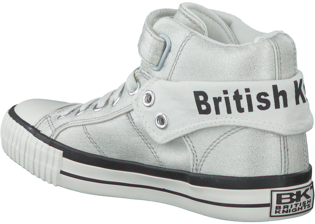 Zilveren BRITISH KNIGHTS Sneakers ROCO - large