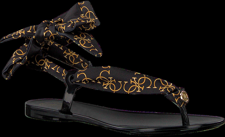 sports shoes 0cb52 1619d Zwarte GUESS Sandalen JUDAY/THONG