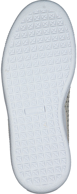 Witte PUMA Sneakers BASKET CHAMELEON  - large