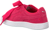 Roze PUMA Sneakers SUEDE HEART VALENTINE IN  - small