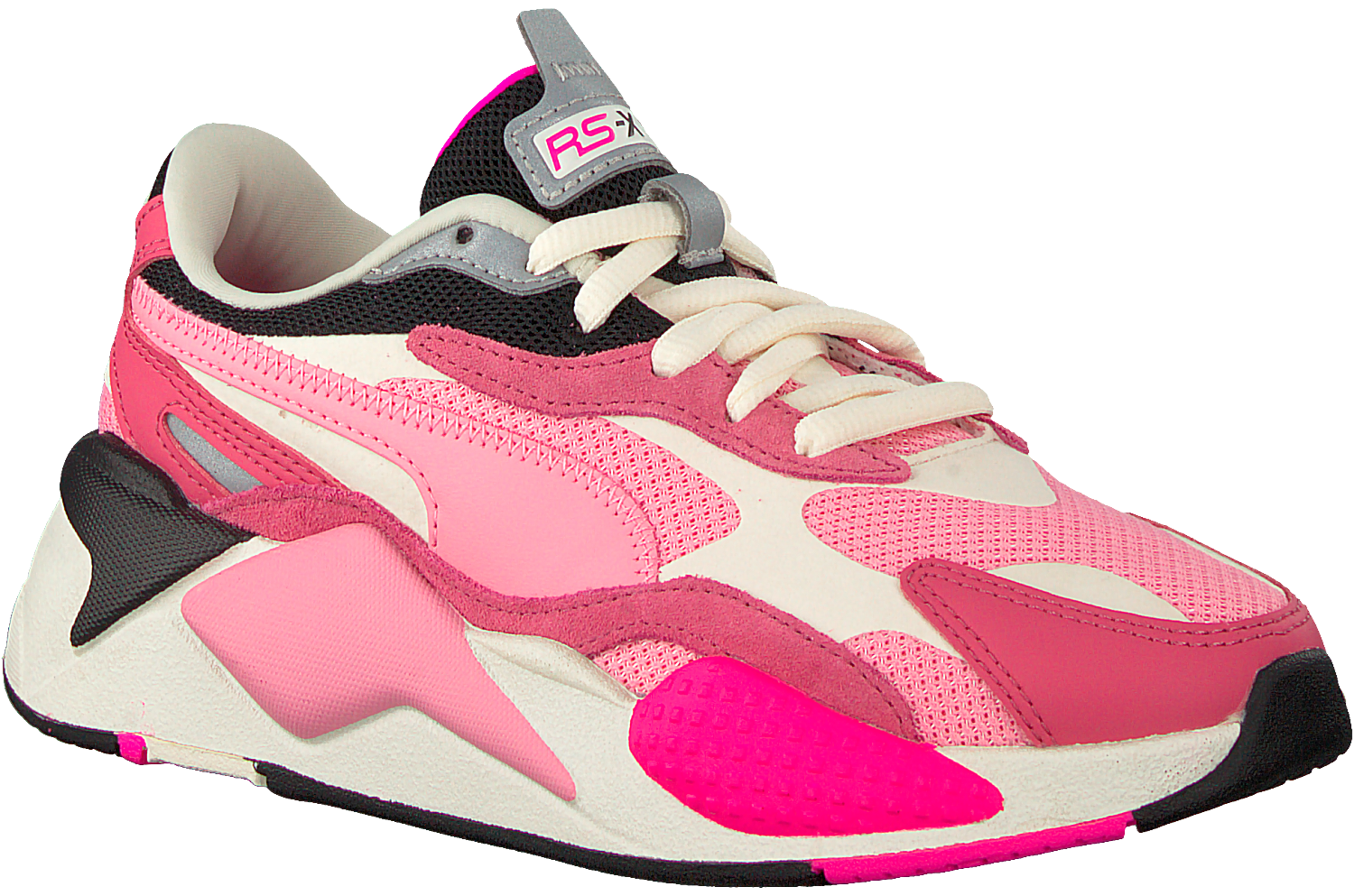 Roze PUMA Lage sneakers RS-X3 PUZZLE | Omoda