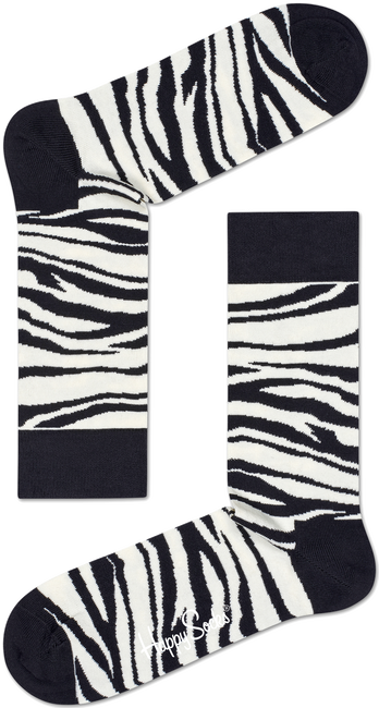 HAPPY SOCKS SOKKEN ZEBRA - large