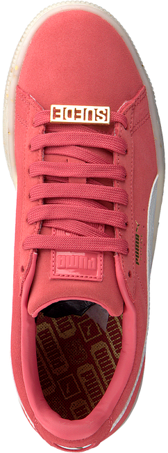 Roze PUMA Sneakers SUEDE CLASSIC BBOY DAMES  - large