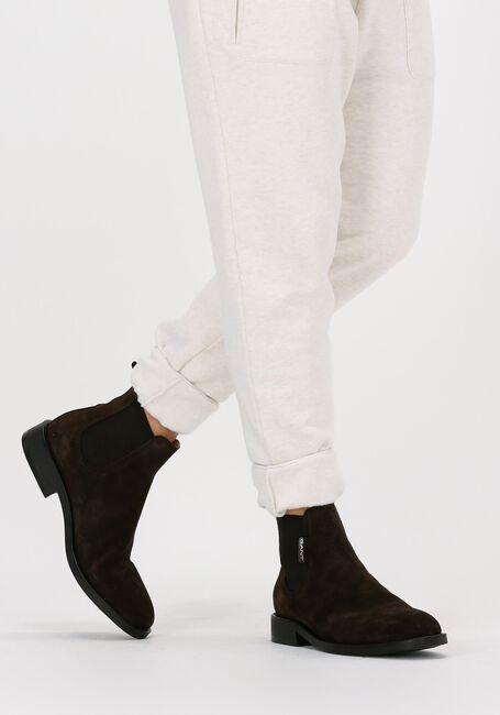 Bruine GANT Chelsea boots BROCKWILL  - large