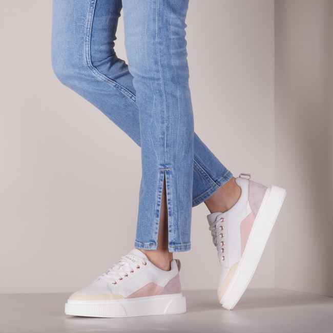 Witte CYCLEUR DE LUXE Lage sneakers SOFIA  - large