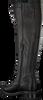Zwarte PS POELMAN Lange laarzen R14065  - small