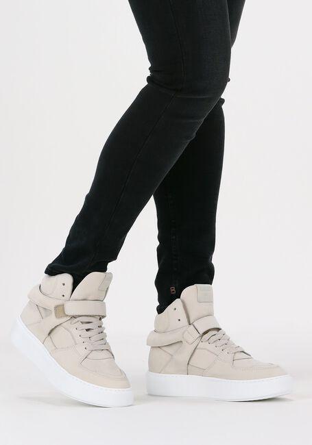 Witte DEABUSED Hoge sneaker 7724  - large