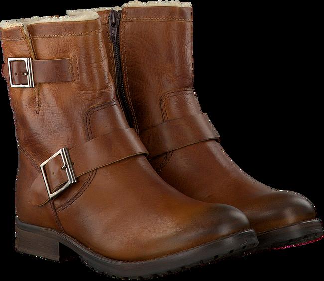 Cognac OMODA Biker boots 25606  - large