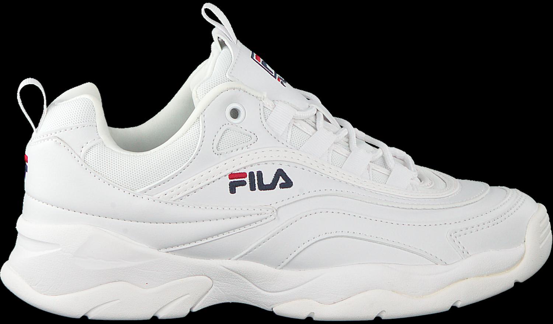 Witte FILA Sneakers RAY LOW WMN