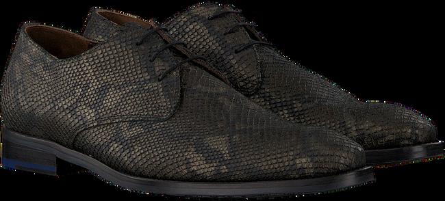Groene FLORIS VAN BOMMEL Nette schoenen 18124  - large