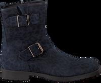 Blauwe CLIC! Biker boots 8383 - medium