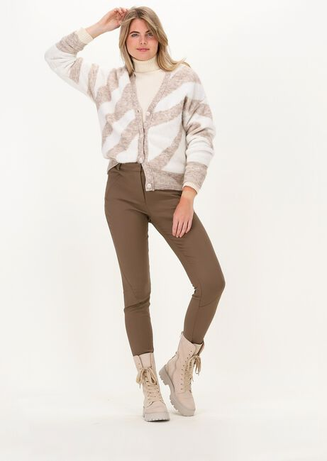 Taupe FIVEUNITS Chino ANGELIE 238  - large