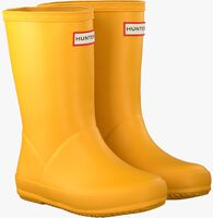Gele HUNTER Regenlaarzen KIDS FIRST CLASSIC  - medium