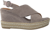 Taupe VIA VAI Sandalen 4801091  - small