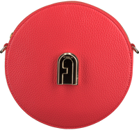 Rode FURLA Schoudertas SLEEK MINI CROSSBODY ROUND  - medium