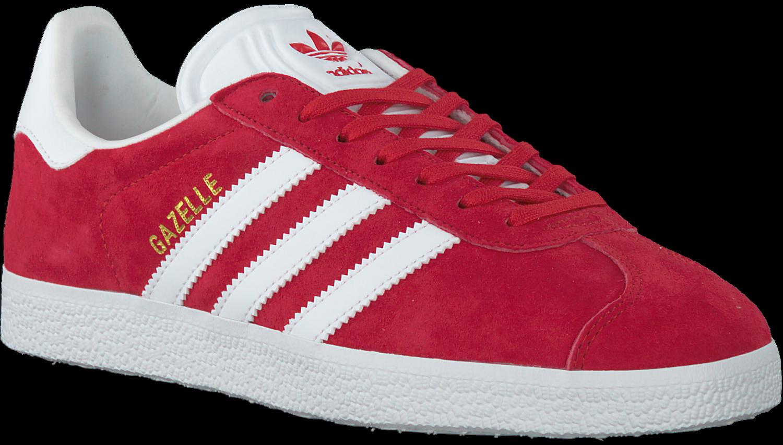 4493b30da44 Rode ADIDAS Sneakers GAZELLE DAMES - Omoda.nl