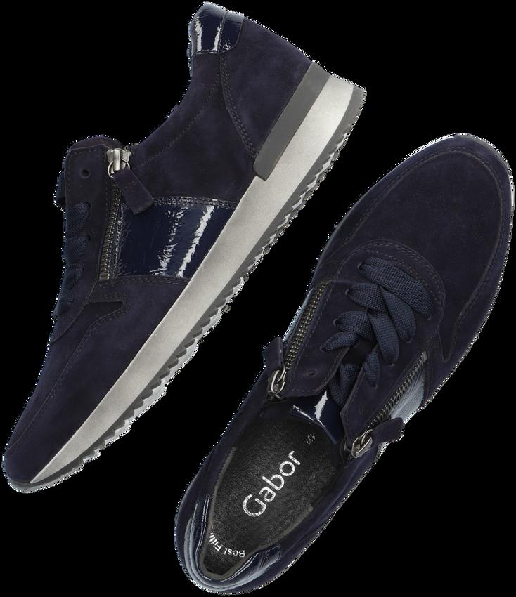 Blauwe GABOR Lage sneakers 420  - larger