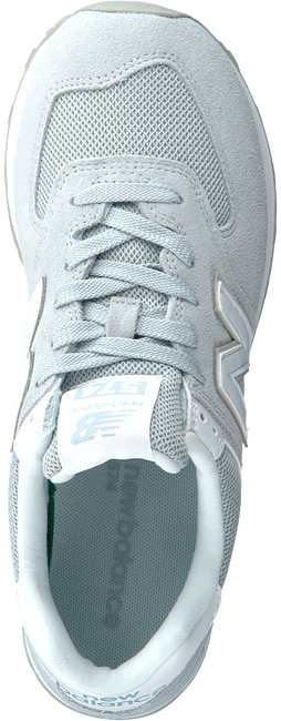 Grijze NEW BALANCE Lage sneakers WL574  - large
