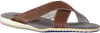 Cognac FLORIS VAN BOMMEL Slippers 20023 - small