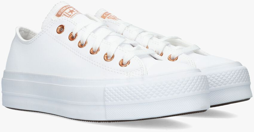 Witte CONVERSE Hoge sneaker CHUCK TAYLOR ALL STAR LIFT  - larger